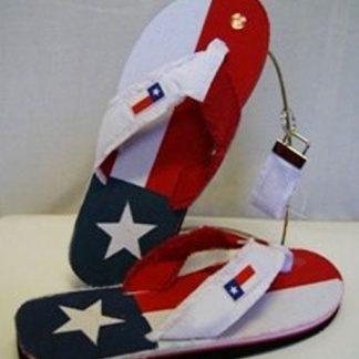 Texas flag flip flops RF-156690