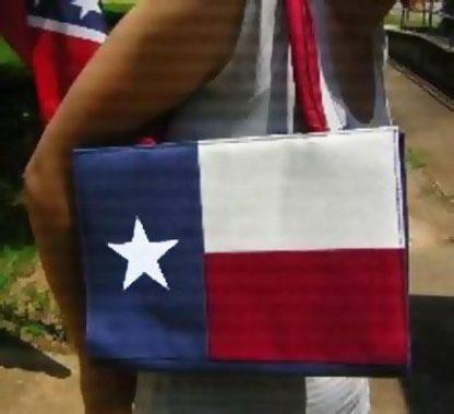 Texas state flag beach bag purse RF-17901