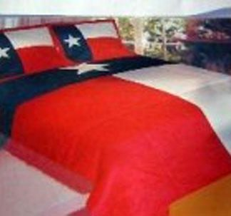 Texas flag quilt comforter set 81531