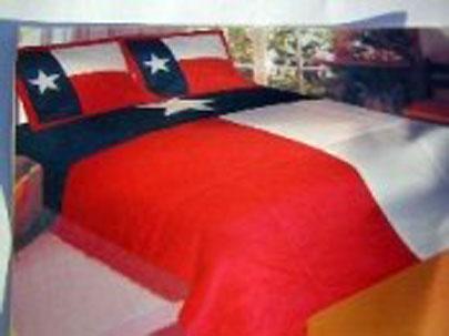 Texas flag quilt comforter set 81531
