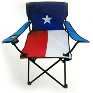 Texan Flag folding chair 900056