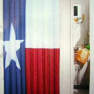 980804 Texas state flag shower curtain