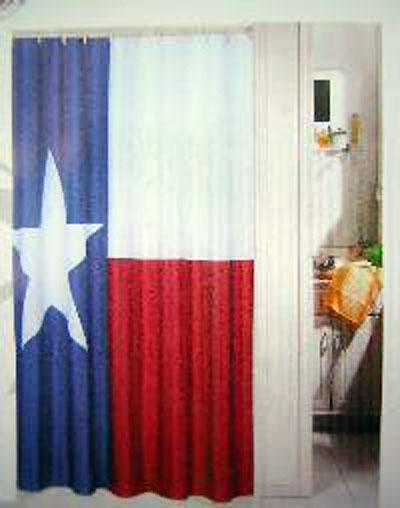 980804 Texas state flag shower curtain