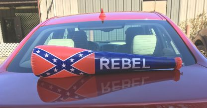 Inflatable Rebel flag bat 29-inches long