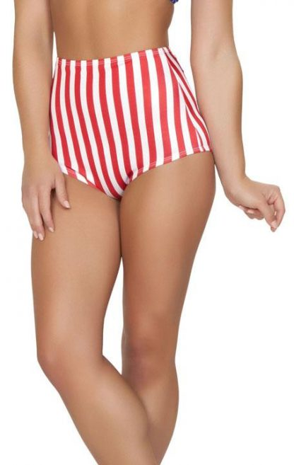 SH3090-AF American flag 1940's pin up costume shorts