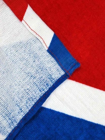 back of Confederate flag beach towel 65