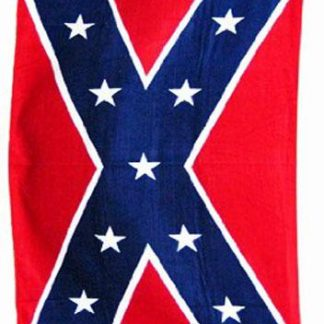 Confederate flag beach towel 65