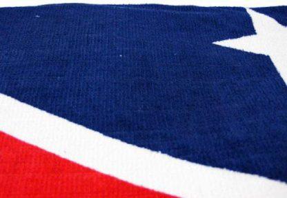 fabric of Confederate flag beach towel 65