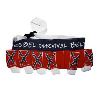 Confederate Flag Rebel Costume Beer Belt