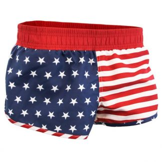 American flag stars and stripes booty shorts JBXUSA