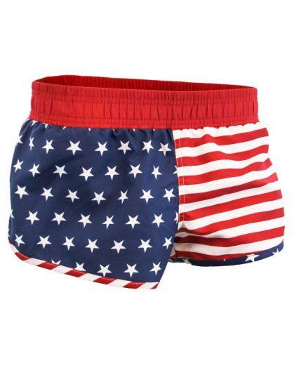 American flag stars and stripes booty shorts JBXUSA