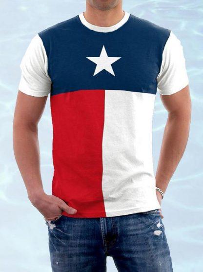 PRBTEX Texas flag T-shirt