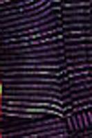 black wave fabric Front tie Daisy Mae halter top 9003