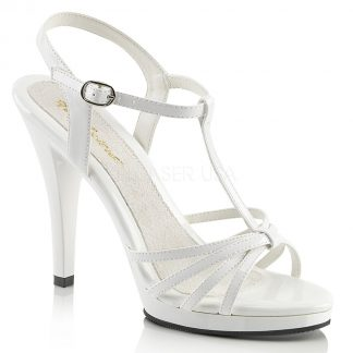 strappy platform sandals with 4-inch stiletto heels Flair-420