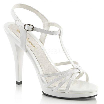 strappy platform sandals with 4-inch stiletto heels Flair-420