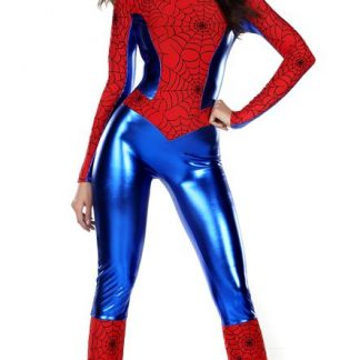 Woman's spiderman superhero costume 555107