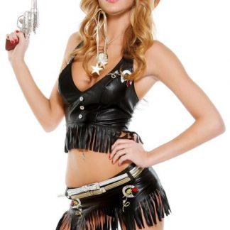 Gungslinger Cowgirl Costume 558520