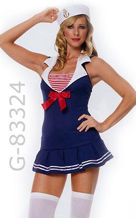 American Sailor Cadet costume dress 83324