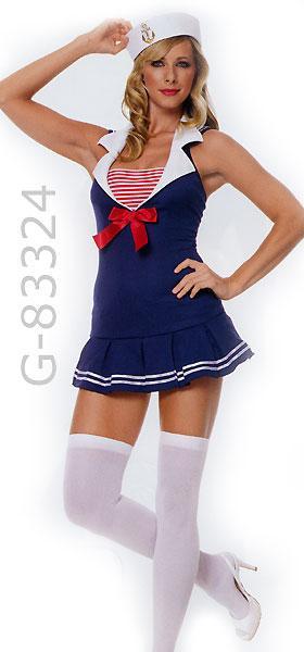 USA American Sailor Cadet costume dress 83324