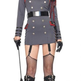 General Punishment sexy adult 4-pc military costume 83942