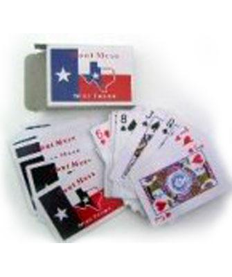 Texas state flag playing cards 3006