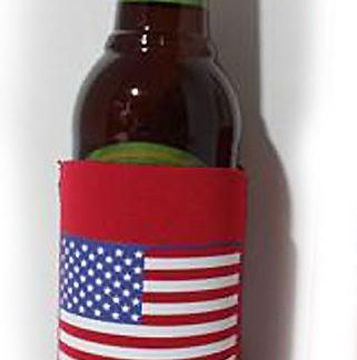 760332 American flag insulated can jacket