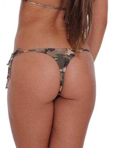 ST805B Camouflage Thong Bikini Bottom