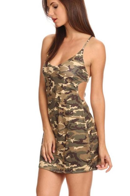 Camo beach dress