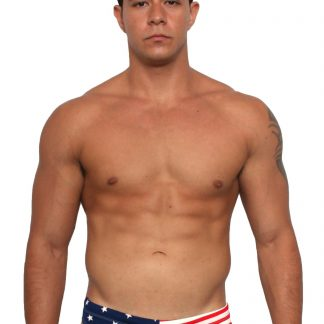 USA American flag men's bikini swimsuit ST302