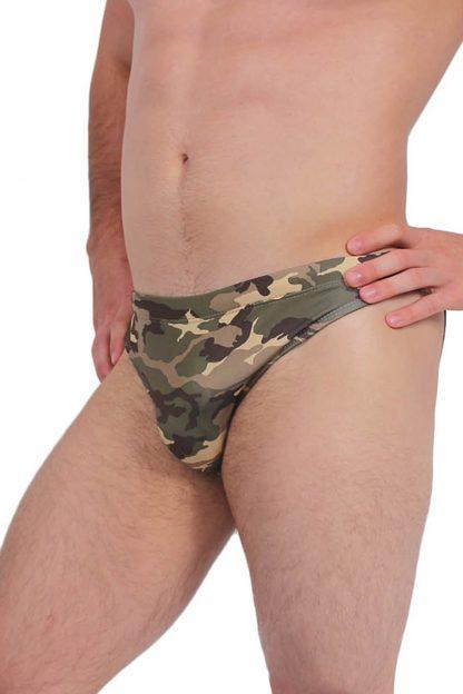 Camouflage men's bikini swimwear ST314
