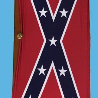 Rebel Confederate Flag Spandex Door Cover