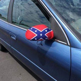 Rebel Flag Car Side Mirror Cover
