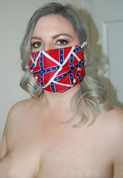 Rebel flag face mask FW-FMREB